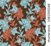 elegance seamless pattern with... | Shutterstock .eps vector #1082500268