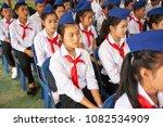 vientiane  laos pdr   january... | Shutterstock . vector #1082534909