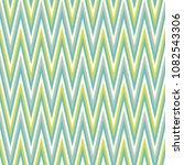 seamless colourful chevron... | Shutterstock .eps vector #1082543306
