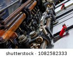 printer lithography cylinder... | Shutterstock . vector #1082582333