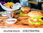 close up of home made tasty... | Shutterstock . vector #1082586986