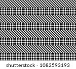 seamless pattern with striped... | Shutterstock .eps vector #1082593193