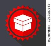 box red sticker flat design... | Shutterstock .eps vector #1082607968