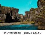 fjadrargljufur canyon  fja r...   Shutterstock . vector #1082612150