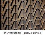 metal rusty fence. decorative... | Shutterstock . vector #1082615486