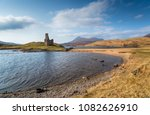 the ruins of ardvreck castle on ... | Shutterstock . vector #1082626910