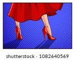 vector illustration in mid... | Shutterstock .eps vector #1082640569