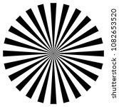 radial lines  starburst ... | Shutterstock .eps vector #1082653520