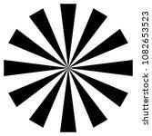 radial lines  starburst ... | Shutterstock .eps vector #1082653523
