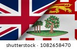 flag of great britain and... | Shutterstock . vector #1082658470