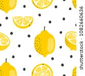 seamless summer pattern with... | Shutterstock .eps vector #1082660636
