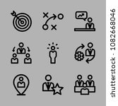icons management with... | Shutterstock .eps vector #1082668046