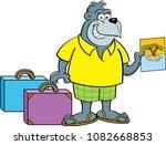 cartoon illustration of a... | Shutterstock . vector #1082668853