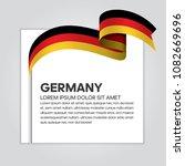 germany flag background | Shutterstock .eps vector #1082669696