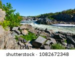 great falls on the potomac river | Shutterstock . vector #1082672348