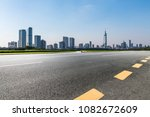 panoramic skyline and buildings ... | Shutterstock . vector #1082672609
