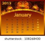 2013 calendar year on the...