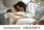 selective focus at the young... | Shutterstock . vector #1082698874