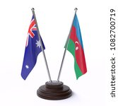 two table flags  australia and... | Shutterstock . vector #1082700719