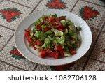 Small photo of mixed seasonal salad.
