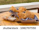 pastel brazilian food delicious ... | Shutterstock . vector #1082707550