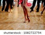 feet woman dancer latino... | Shutterstock . vector #1082722754