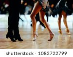feet pair dancers latino... | Shutterstock . vector #1082722799
