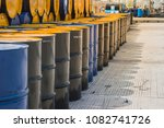 industry oil barrels or... | Shutterstock . vector #1082741726