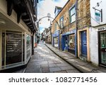 cheap street in frome  somerset ... | Shutterstock . vector #1082771456