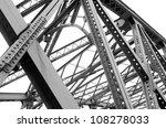 support above the bridge  steel ... | Shutterstock . vector #108278033