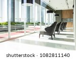 row of chairs in executive...   Shutterstock . vector #1082811140