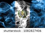 guatemala smoke flag   Shutterstock . vector #1082827406