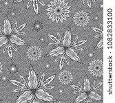 seamless vector abstract... | Shutterstock .eps vector #1082833100