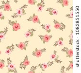 seamless pattern in small... | Shutterstock .eps vector #1082851550
