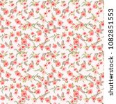 seamless pattern in small... | Shutterstock .eps vector #1082851553