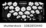 set of isolated white...   Shutterstock .eps vector #1082853440