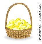 generous harvest. in a... | Shutterstock .eps vector #1082856608