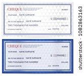 check  cheque   chequebook... | Shutterstock .eps vector #1082863163