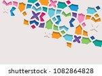 arabic arabesque design... | Shutterstock .eps vector #1082864828