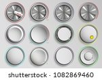 set of buttons reality volume... | Shutterstock .eps vector #1082869460