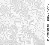 topographic map background... | Shutterstock .eps vector #1082871440