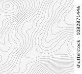 topographic map background... | Shutterstock .eps vector #1082871446