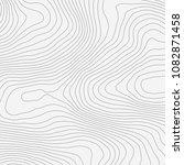topographic map background... | Shutterstock .eps vector #1082871458
