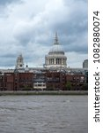 Small photo of St. Paul cathedral, London city, Great Britain
