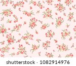 flowery bright pattern in small ... | Shutterstock .eps vector #1082914976