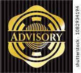 advisory shiny badge | Shutterstock .eps vector #1082934194
