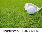 golf course where the turf is...   Shutterstock . vector #1082949443