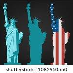 statue of liberty. world...   Shutterstock .eps vector #1082950550