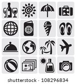 rest icons | Shutterstock .eps vector #108296834