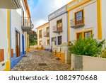 village street with residential ... | Shutterstock . vector #1082970668